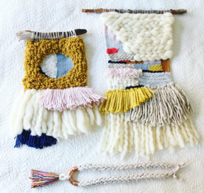 Weaving as a form of meditation